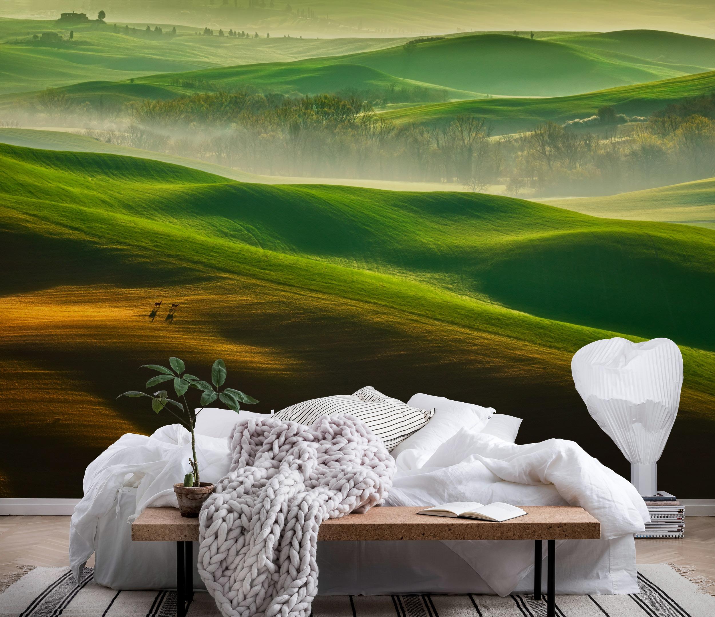 Wallpaper italian landscape wall mural happywall for Italian landscape design