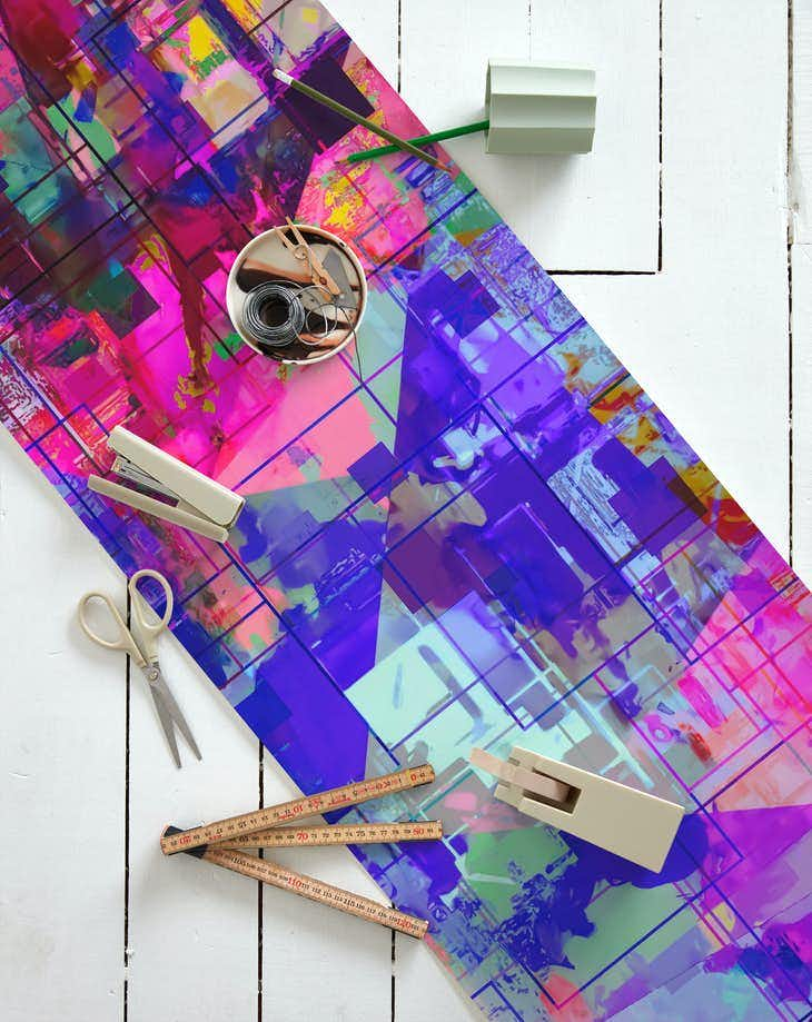 Buy Pop Geometric Art Abstract 33 Wallpaper Free Us Shipping At Happywall Com