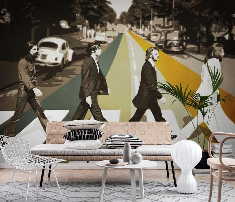 Abbey Road Wall Mural
