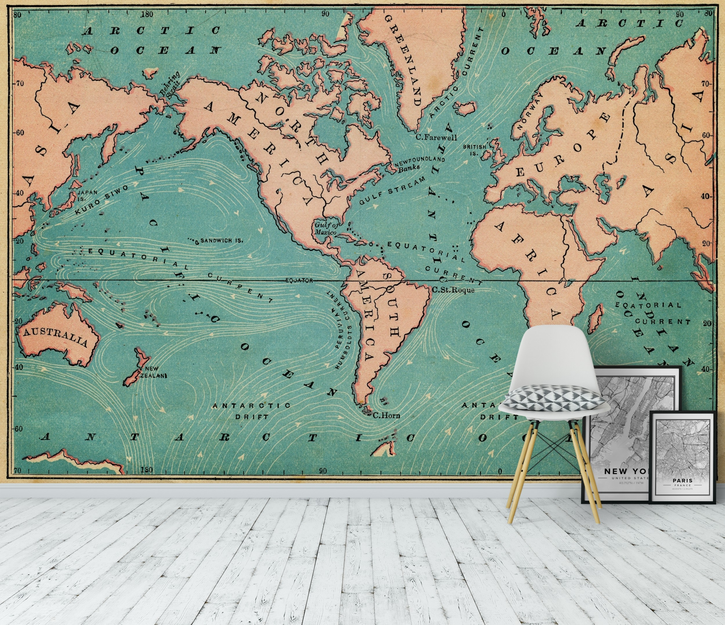 World Map Retro Part 84
