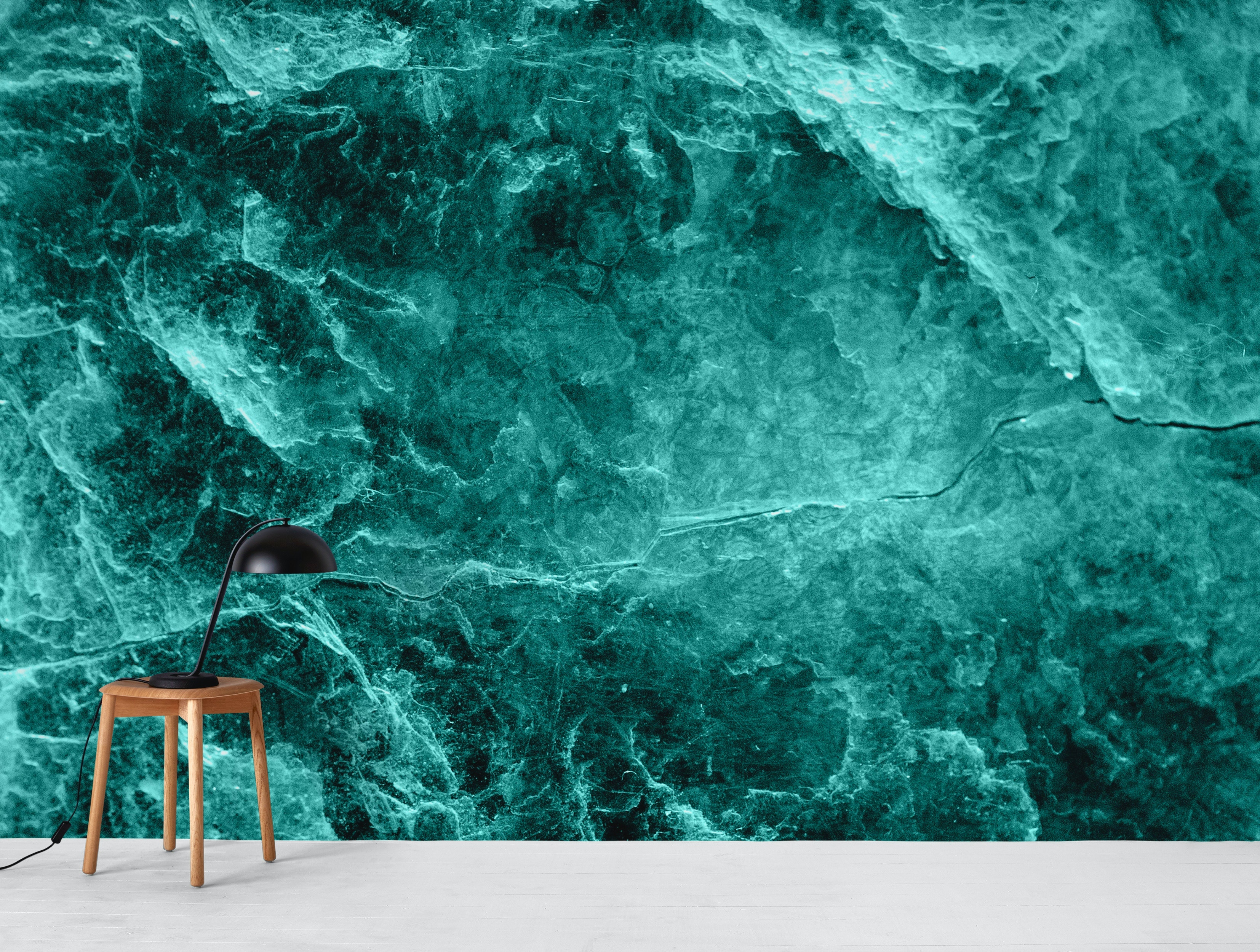 Buy Enigmatic Deep Green Marble 1 Wallpaper Free Us Shipping At Happywall Com